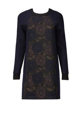 Brocade Sweater Dress by Martin Grant