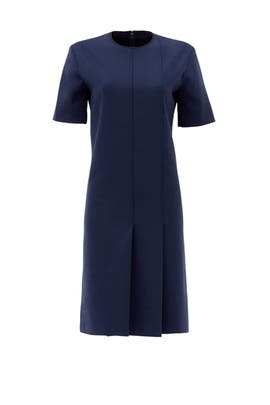 Milano Wool Pleated Dress by Nina Ricci