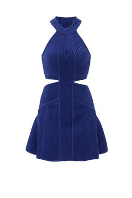 Cobalt Mirielle Dress by Ronny Kobo
