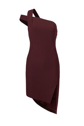 Plum Candice Dress by AQ/AQ