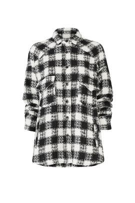 Modern Check Shirt by The Kooples