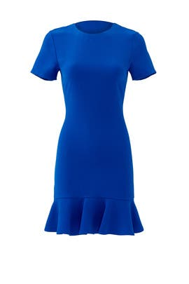 Lapis Blue Tia Dress by Shoshanna