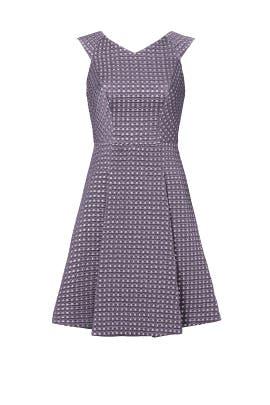 Mauve Etoile Dress by Yoana Baraschi
