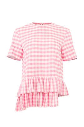Gingham Roshalf Top by Alcoolique