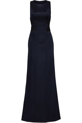 Midnight Stretch Gown by GALVAN