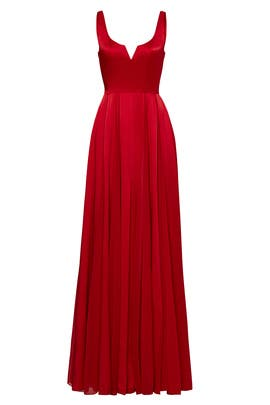 Red Meaghan Gown by Halston Heritage