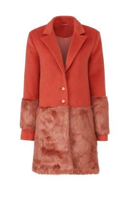 Shallows Faux Fur Coat by Keepsake