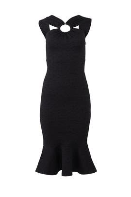 Black Ring Dress by Opening Ceremony
