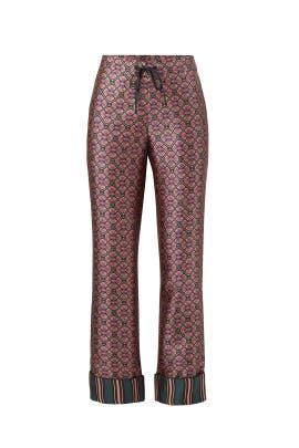 Printed Wide Pyjama Pants by Scotch & Soda