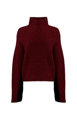 Burgundy Lola Sweater by Zadig & Voltaire