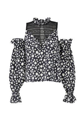 Printed Daisy Top by Nicholas