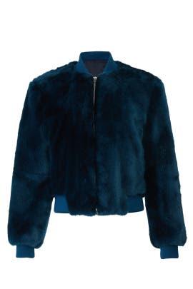 Ellington Faux Fur Jacket by Elizabeth and James