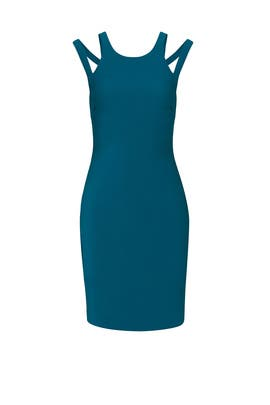 Myrtle Green Chrystie Dress by LIKELY