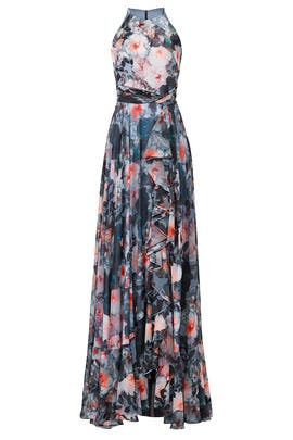 Floral Essex Maxi by Badgley Mischka