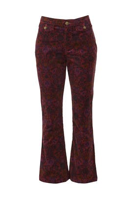 Tailored Crop Flare Jeans by Free People