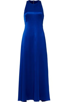Cobalt Shine Gown by Jill Jill Stuart