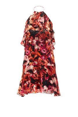 Freshly Floral Halter Dress by Slate & Willow