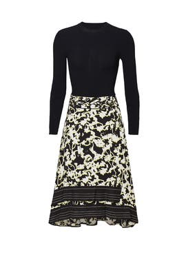 Printed Vines Dress by Proenza Schouler
