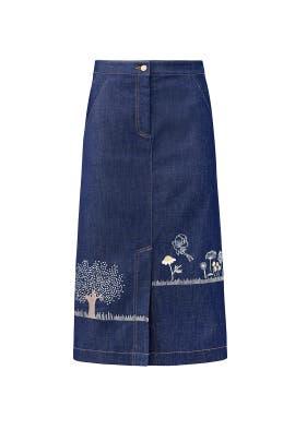 Denim Fairy Skirt by Vilshenko