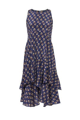 Paisley French Dress by Nanette Lepore