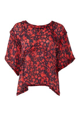 Floral Magical Top by Iro