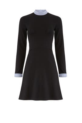 Stripe Trim Dress by Slate & Willow