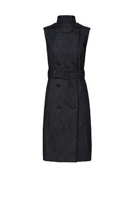Belted Denim Dress by DEREK LAM