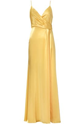 Buttercup Satin Gown by Jill Jill Stuart