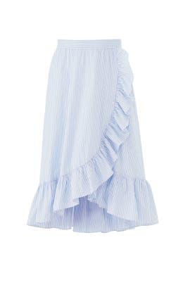Stripe Morgan Skirt by Jill Jill Stuart