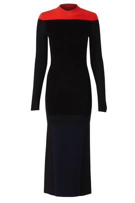 Mock Neck Knit Dress by Diane von Furstenberg