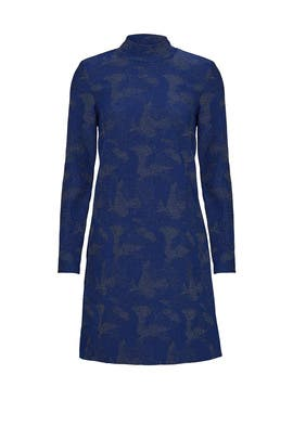 Blue Polly Dress by Hunter Bell