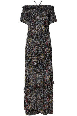 Loma Floral Maxi Dress by Rebecca Minkoff