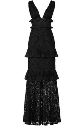 Black Elle Gown by AMUR