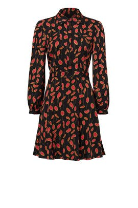 Glissade Fuchsia Chrissie Dress by Diane von Furstenberg