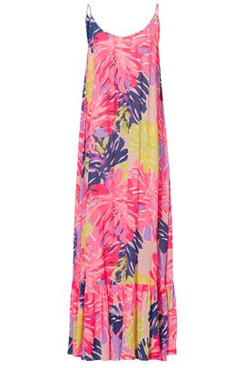 Tenley Pink Printed Maxi by Lilly Pulitzer