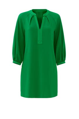 Green Pipkin Dress by Trina Turk