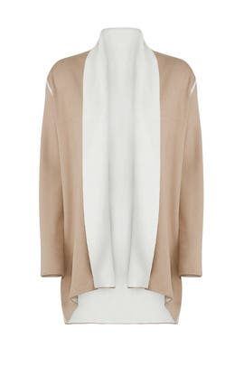 Two Tone Cardigan by Michael Stars