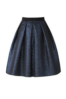 Navy Full Skirt by Slate & Willow