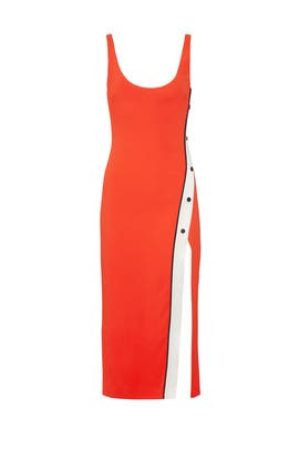 Snap Slit Tank Dress by David Koma