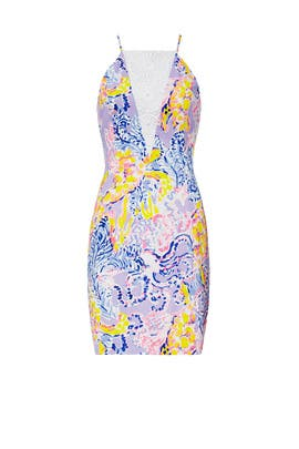 Printed Pearl Dress by Lilly Pulitzer