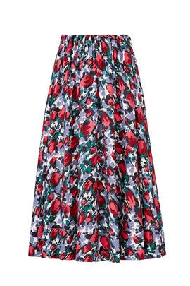 Multi Floral Skirt by Marni