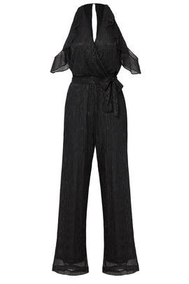 Black Wrap Jumpsuit by Waverly Grey