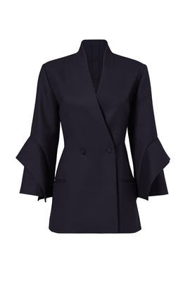 Midnight Bauer Blazer by Acler