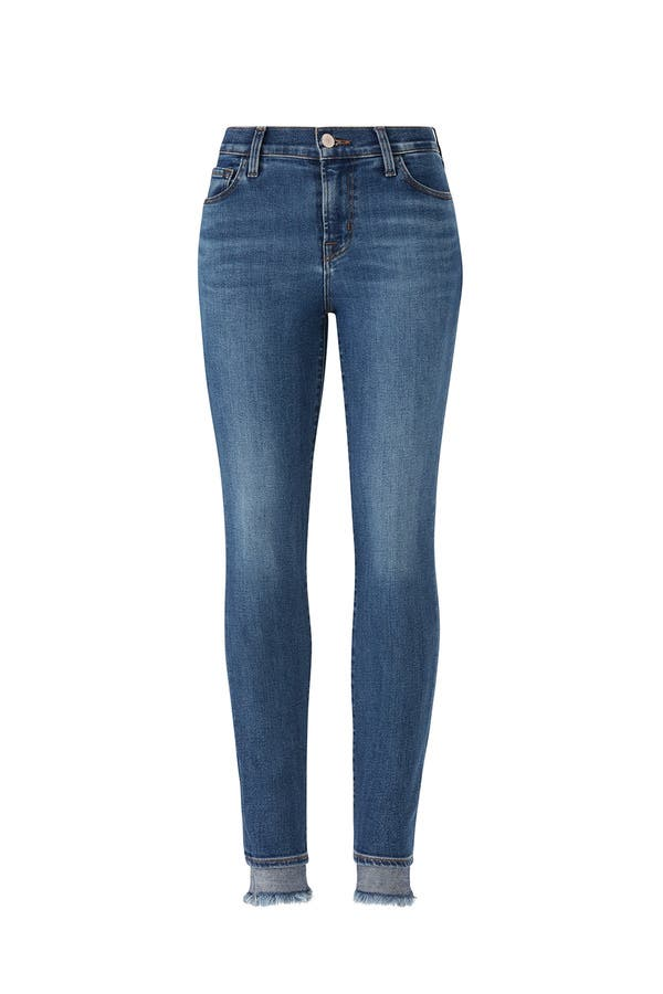 b131f70c3eb01 Hewes 835 Crop Skinny Jeans by J BRAND for $45 | Rent the Runway