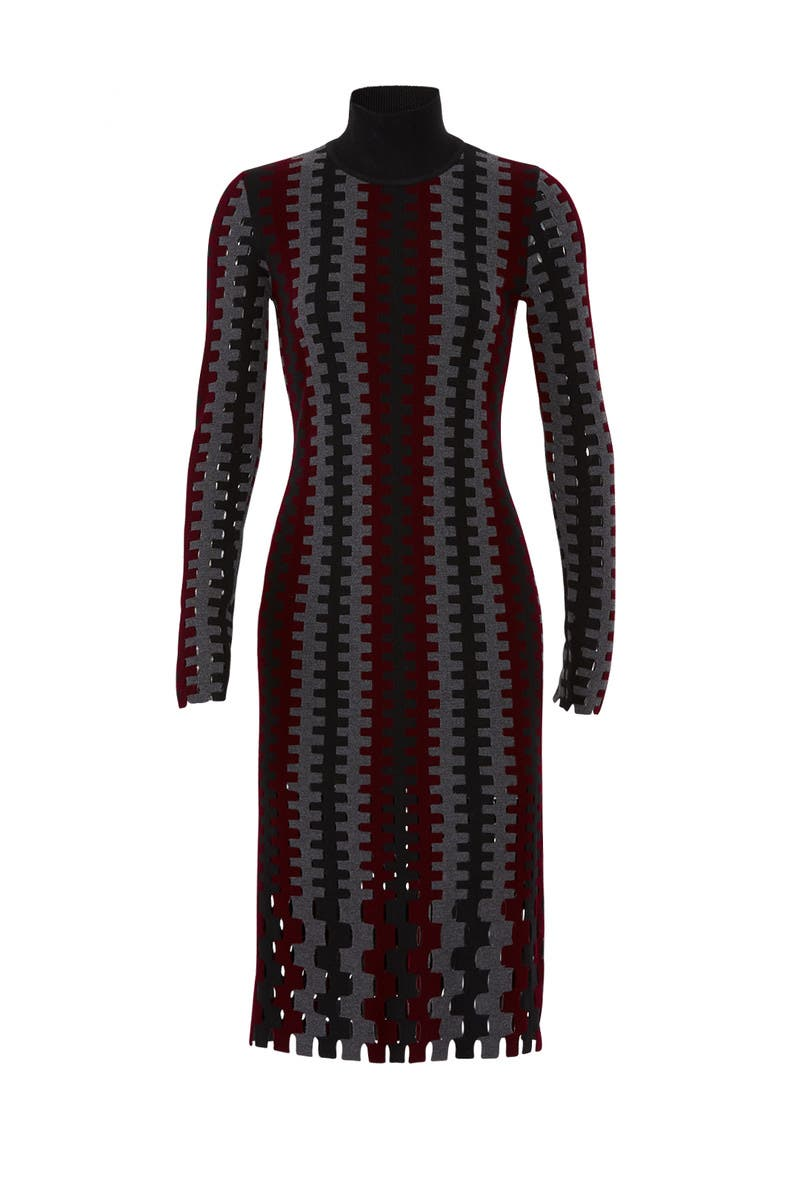 8b1c0ff30739 Turtleneck Knit Midi Dress by Diane von Furstenberg for  85