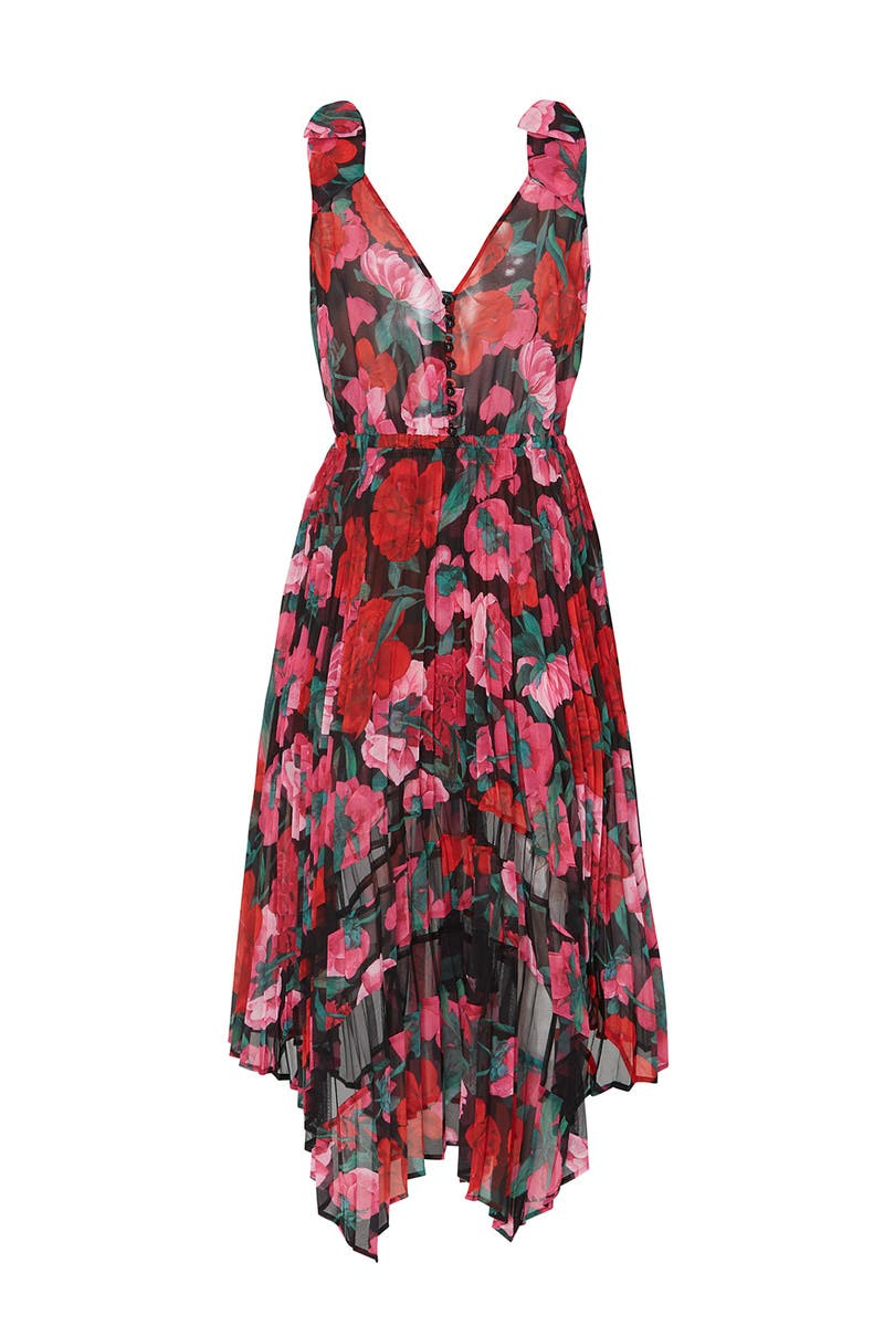 b50b798d927 Floral Asymmetric Robe Dress by The Kooples for $55 - $80 | Rent the Runway