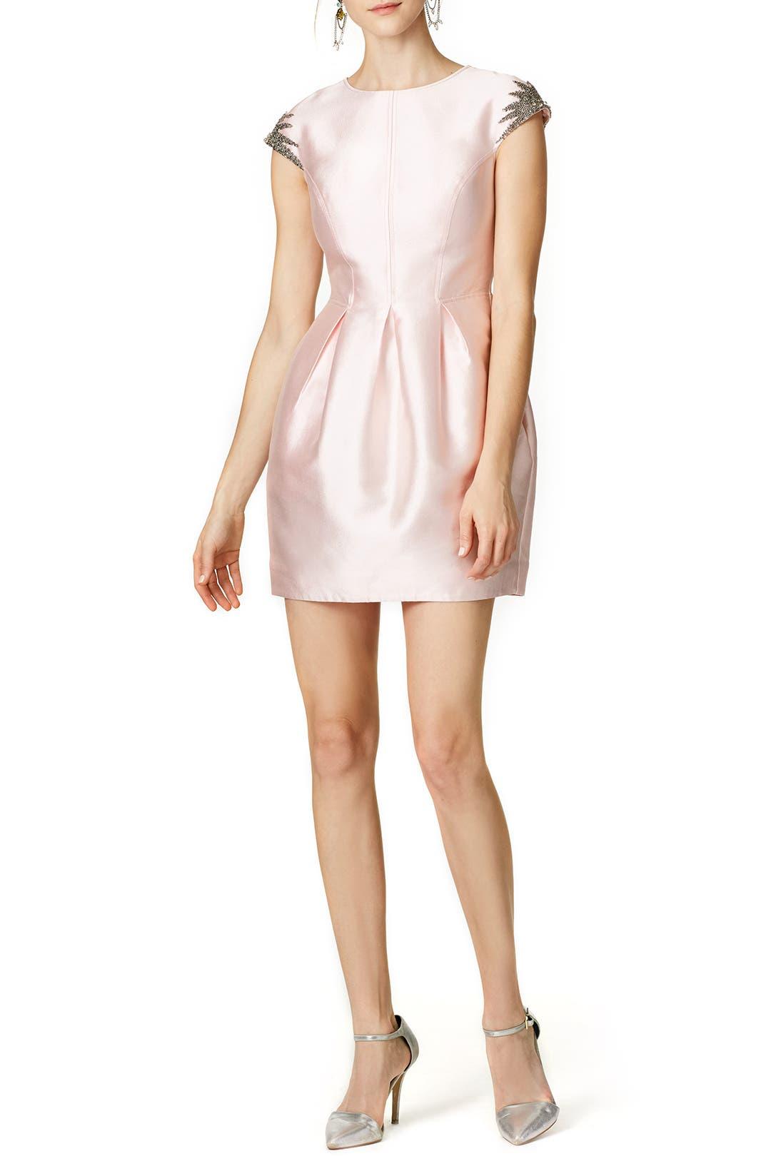 Cynthia Rowley Shimmering Tulip Dress