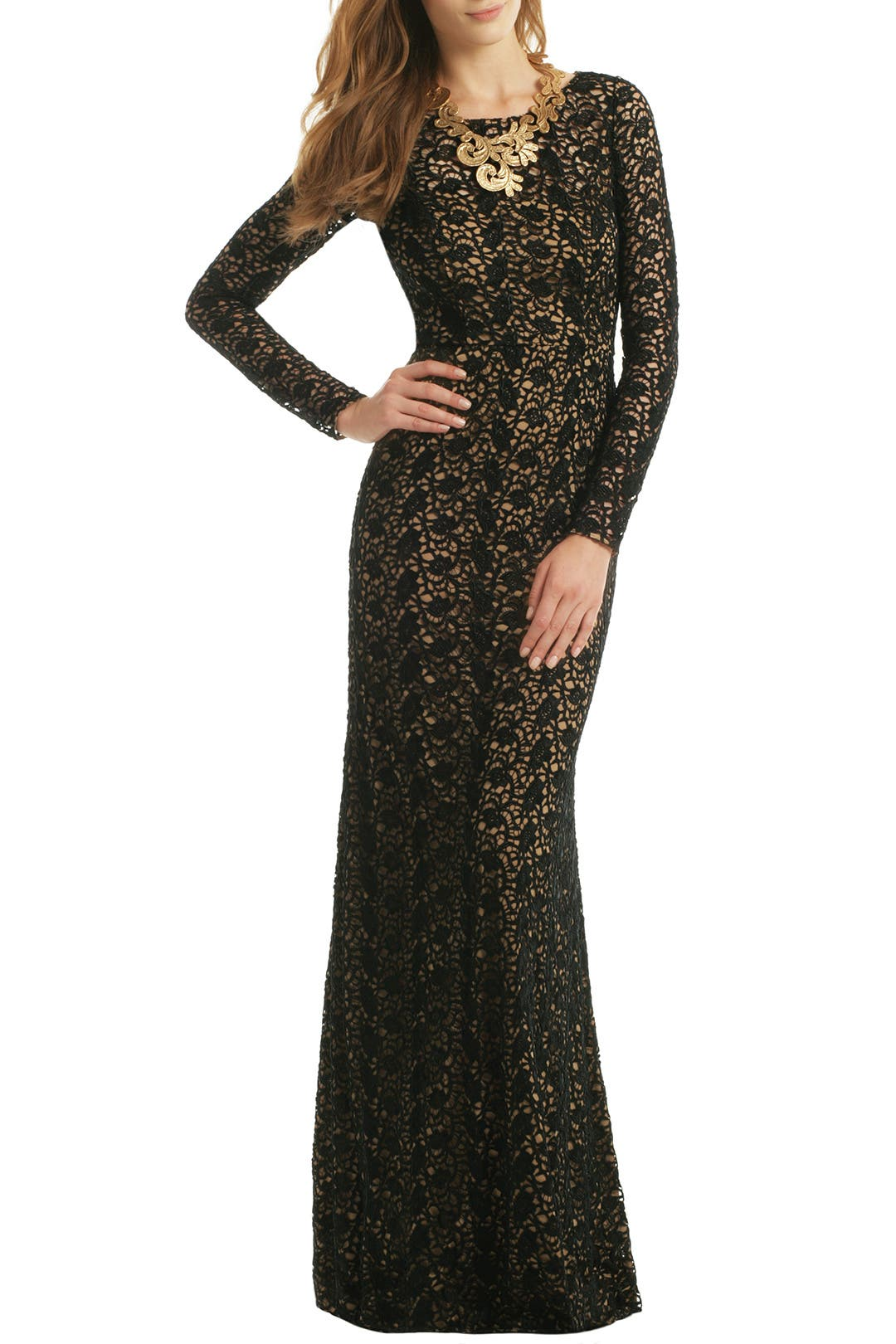 Courtess Gown By Carmen Marc Valvo For 55 80 Rent