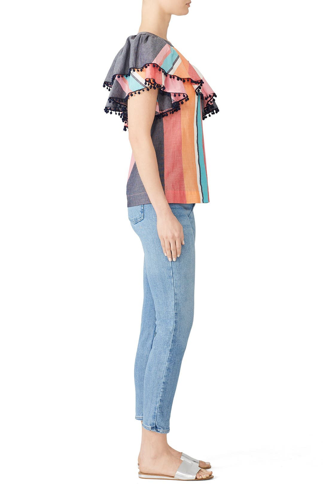b64049c521b5a Striped Los Angeles Top by Trina Turk for  50