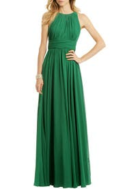Fluorite Emerald Gala Gown by Badgley Mischka